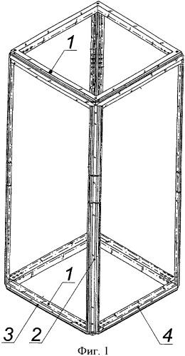 Рамный каркас распределительного шкафа