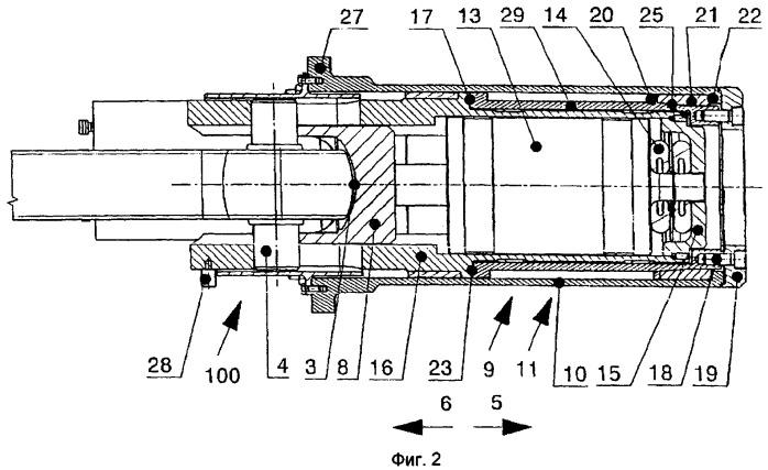 Ударно-тяговое устройство для сцепок с центральным буфером для рельсовых транспортных средств