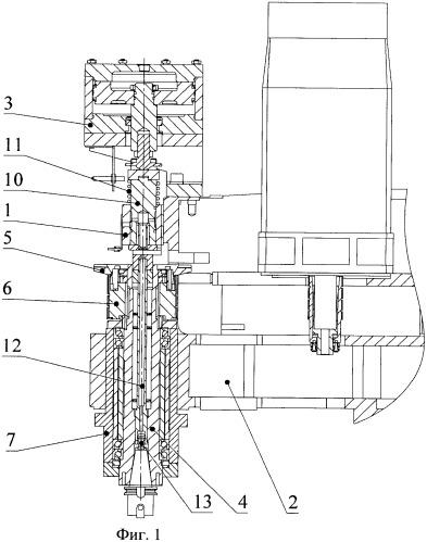 Устройство фиксации шпинделя металлорежущих станков различного назначения
