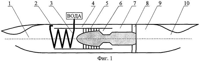 Гиперзвуковой турбоэжекторный двигатель