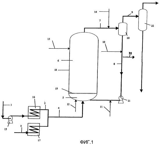 Способ гидроконверсии тяжелого сырья на дисперсном катализаторе