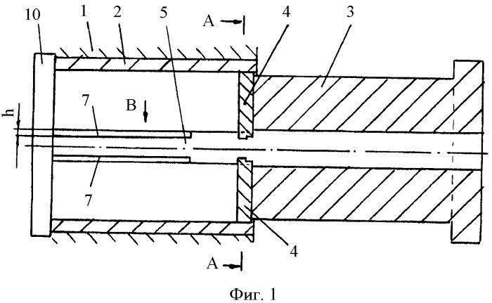 Инструмент для изготовления изделий переменного сечения прессованием с обратным истечением металла