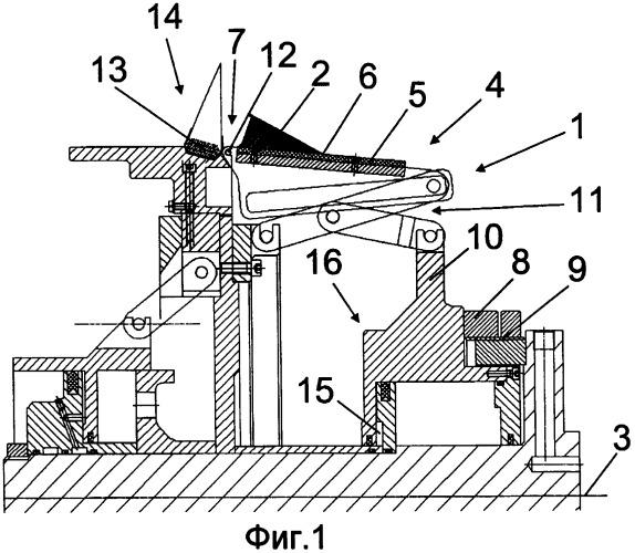 Способ намотки и сращивания компонента для сборки шин с толщиной материала, изменяющейся по профилю поперечного сечения