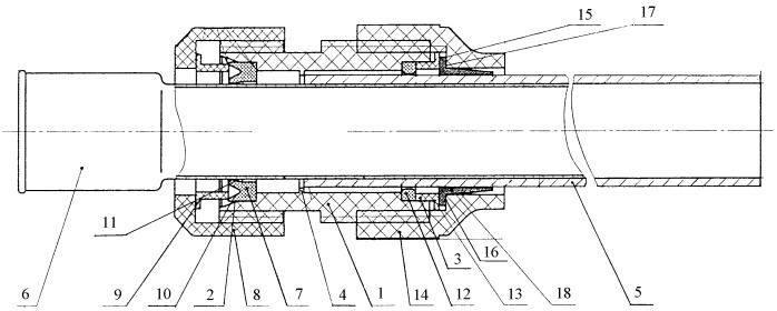 Муфта для соединения трубопроводов