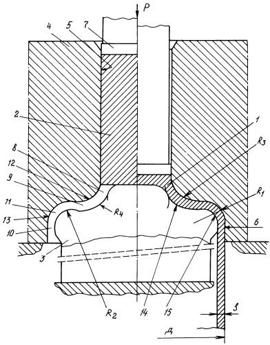 Способ горячей объемной штамповки стакана