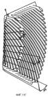 Размалывающий конус, сегмент пластины для конуса вращательного рафинера, конический рафинер, а также способ изготовления набора противолежащих пластин для конического рафинера