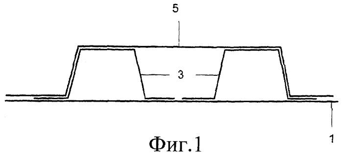 Монолитная композитная панель многоячеистой коробчатой формы