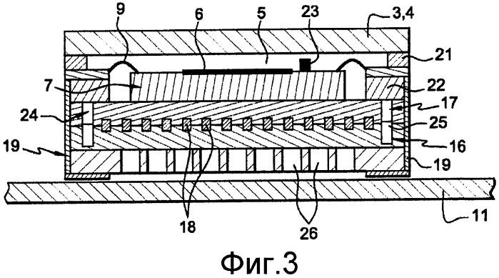 Компонент для обнаружения, в частности, инфракрасного электромагнитного излучения
