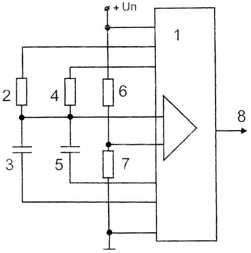 Микроконтроллерный измерительный преобразователь емкости и сопротивления в двоичный код