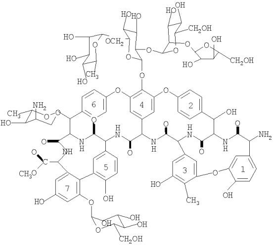 Штамм amycolatopsis fructiferi subsp. ristomycini - продуцент антибиотика ристомицина