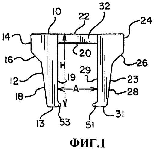 Изолятор для рельсового анкера (варианты)
