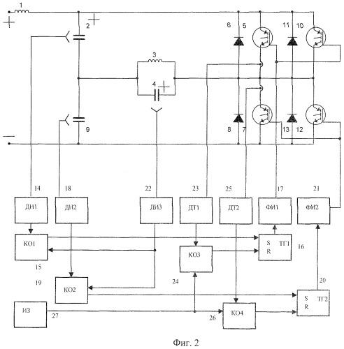 Способ управления параллельным инвертором напряжения