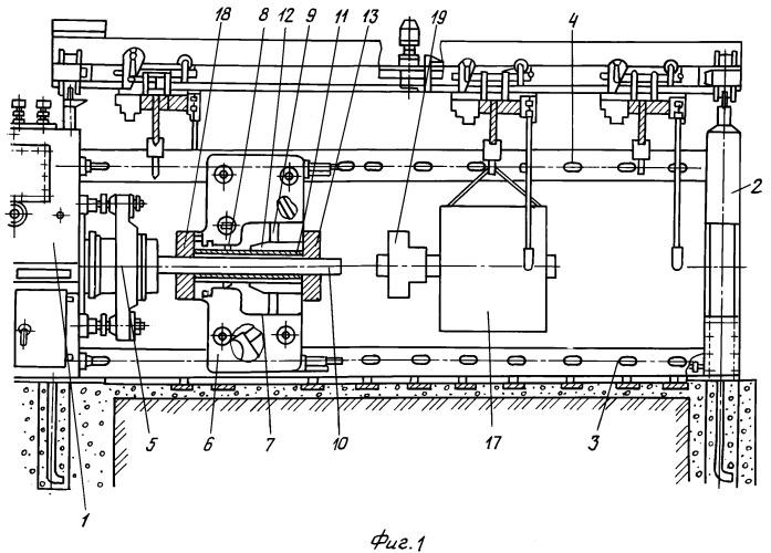 Горизонтальный гидравлический пресс для распрессовки и запрессовки крупногабаритных деталей и узлов