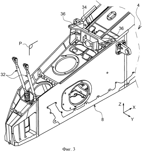 engine attachment device arranged between aircraft wing