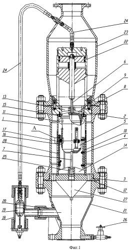 Устройство для отвода газа
