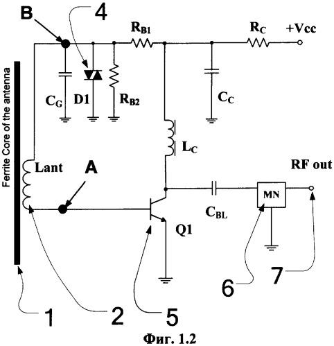 Активная магнитная антенна с