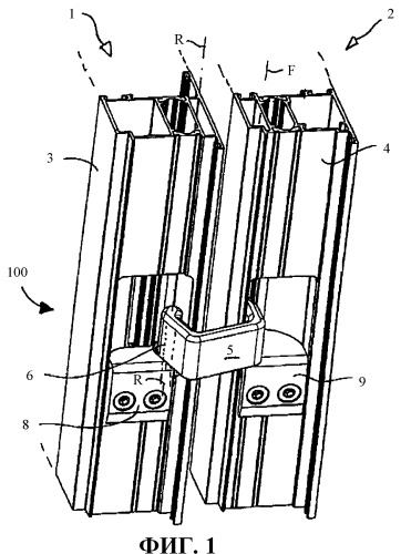 Устройство для прокладки проводов между рамой и створкой