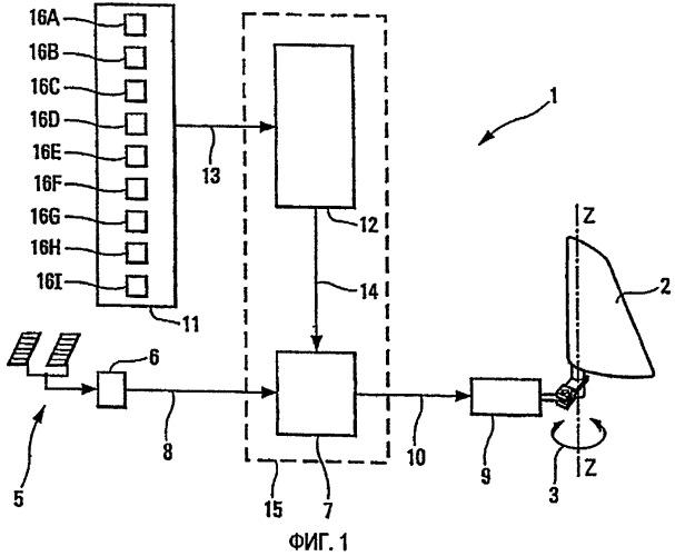 Электрическая система управления для руля направления летательного аппарата