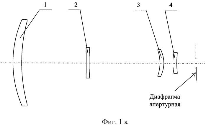 Четырехкомпонентный телескоп с двумя увеличениями для дальней ик-области спектра