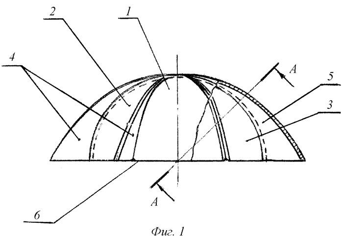 Способ изготовления тонкостенной оболочки с криволинейными рабочими поверхностями