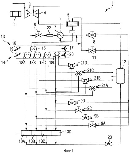 Система повышения давления и кондиционирования воздуха