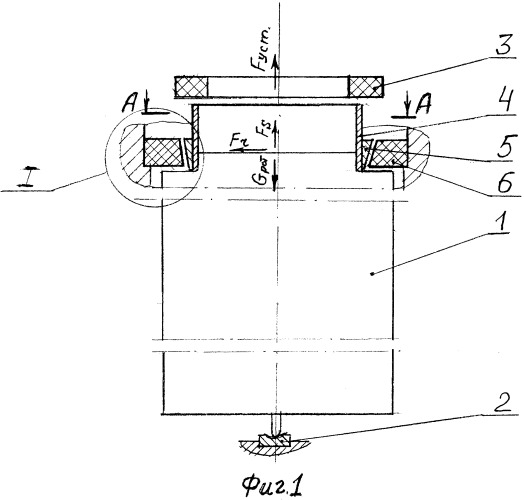Регулируемая магнитодинамическая опора вертикального ротора