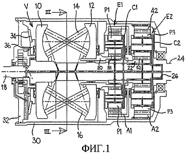 Приводной механизм для бесступенчатой коробки передач