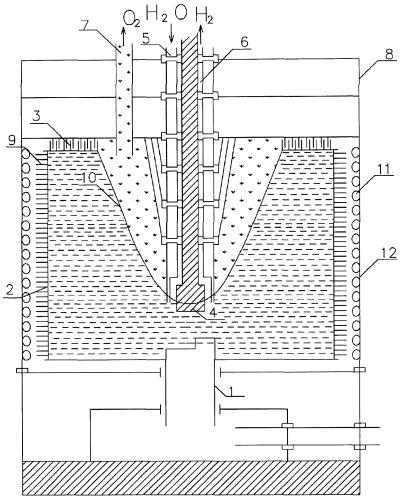 Гидроэлектроводородный генератор (гэвг)