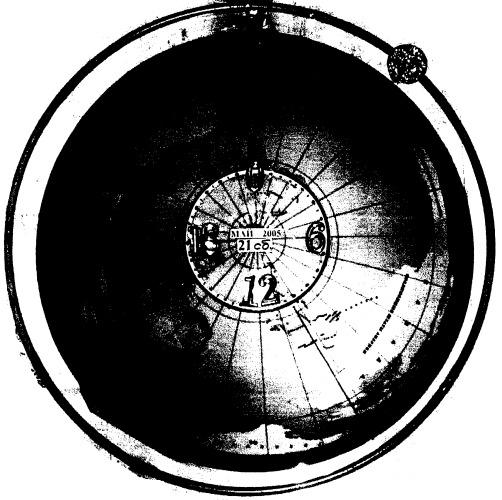 Часы с индикацией глобального поясного времени