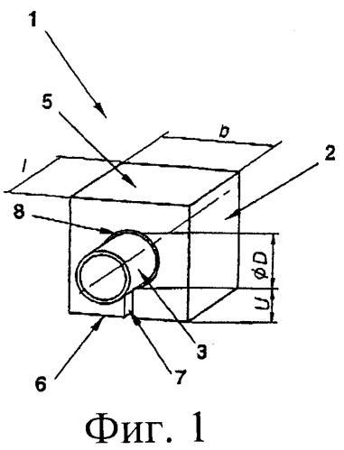 Элемент первой стенки термоядерного реактора