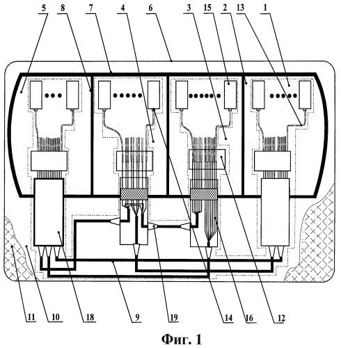 Кабельная оптическая линия подводного средства