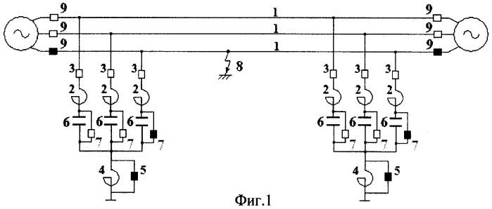 Устройство для осуществления однофазного автоматического повторного включения линий сверхвысокого напряжения