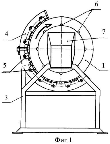 Магнитный сепаратор для шаровой мельницы