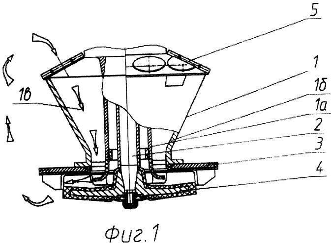 Аэрационный узел флотационной машины