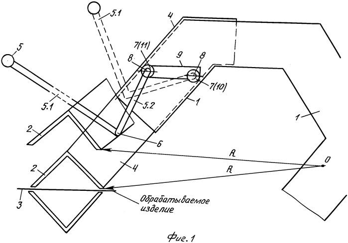 Механизм управления положением прижима гибочного станка