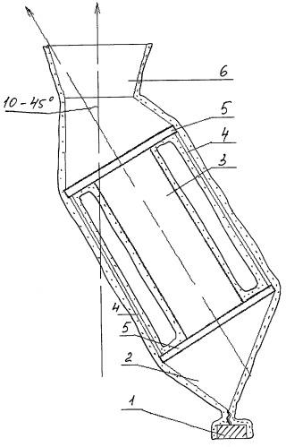 Устройство для получения отливки с монокристаллической структурой