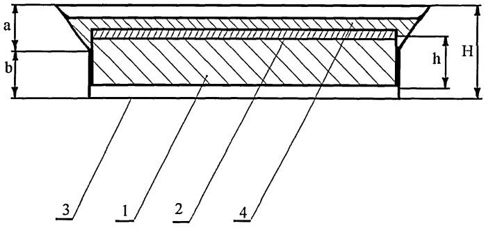 Способ получения защитно-декоративного покрытия на ровной гладкой поверхности
