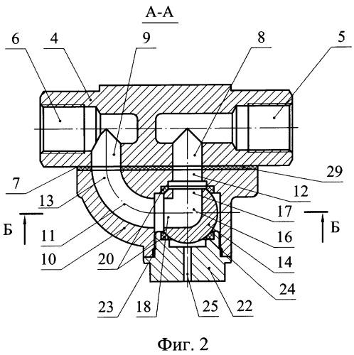 Запорный узел разобщительного крана воздушной магистрали подвижного состава (варианты)