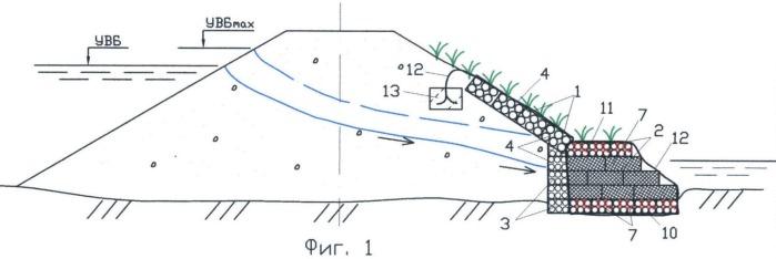 Комбинированный дренаж биопозитивной конструкции