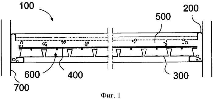 Конструкция балкона и способ ее изготовления