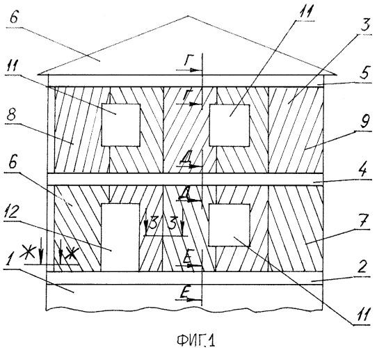 Способ изготовления и сборки деревянных домов, строений и сооружений из древоблоков