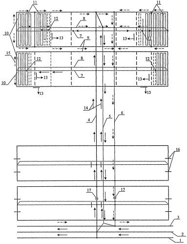 Способ проветривания панели при панельно-блоковой системе подготовки