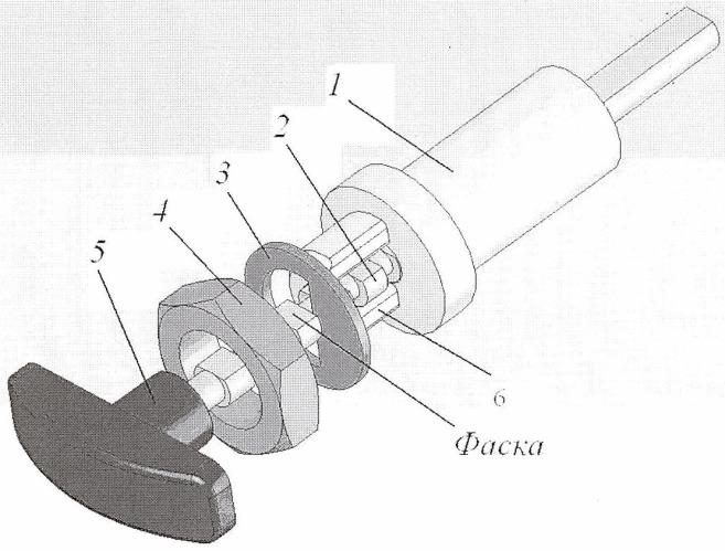 Устройство ручного управления подачей топлива