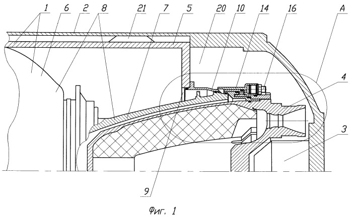 Система старта ракеты из пускового контейнера