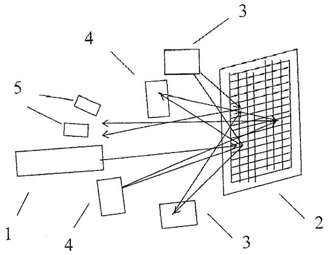 Двухкоординатный датчик перемещений