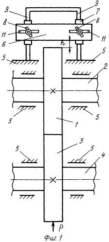 Роликовая модель зубчатой передачи