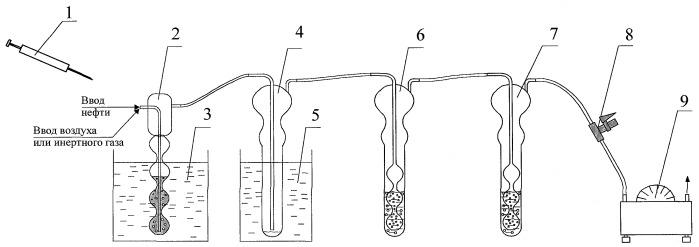 Способ определения содержания сероводорода и легких меркаптанов в газовом конденсате и нефтях