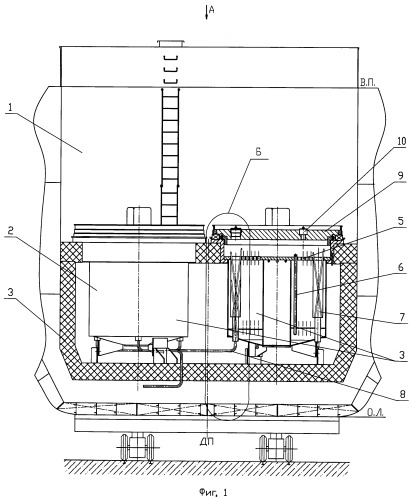 Способ демонтажа кессонов из хранилища судов атомно-технологического обслуживания с нештатно размещенными в них дефектными отвс