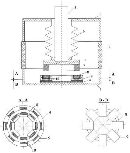 Вакуумный выключатель тока