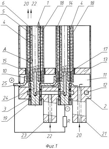Сменный модуль генератора на твердооксидных топливных элементах